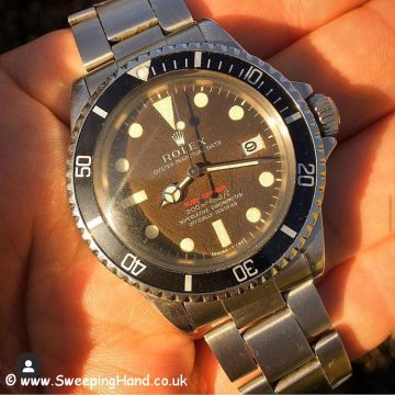 Tropical Rolex Red Submariner 1680