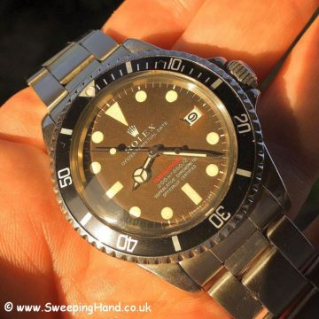 Tropical Rolex Red Submariner
