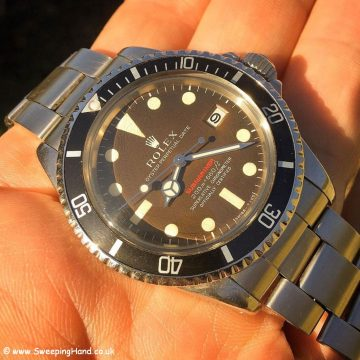 Tropical Rolex Red Submariner Meters First