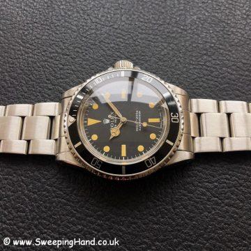 1970 Rolex 5513 Submariner