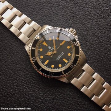 Rolex 5513 Submariner Pumpkin