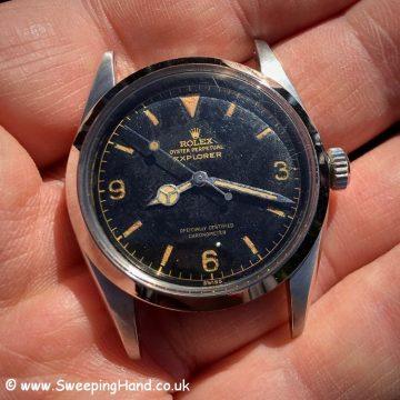 Rolex 6610 Explorer Dial