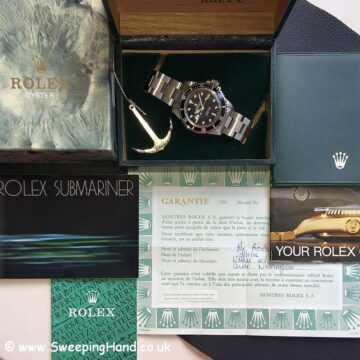 Rolex 5513 Spider Dial Collector Set