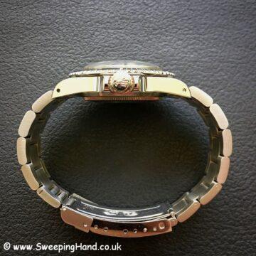 Rolex 5513 Spider Dial Submariner case side 1