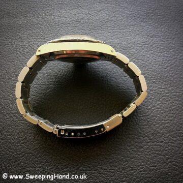 Rolex 5513 Spider Dial Submariner case side 2