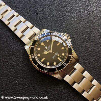 Rolex 5513 Submariner NOS