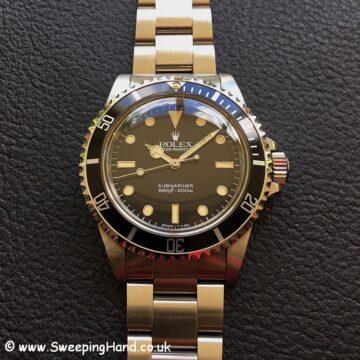 Rolex 5513 Submariner NOS 8