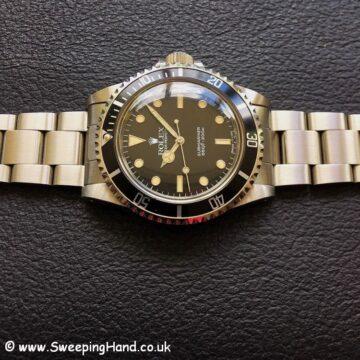 Rolex 5513 Submariner NOS 9