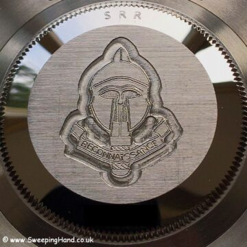 Rolex SRR Submariner Case Engraving