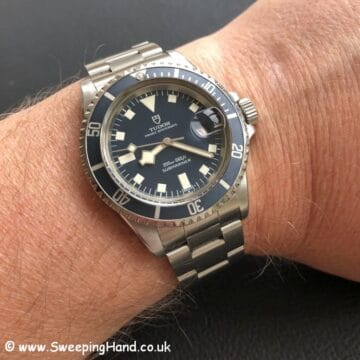 7021 Tudor Submariner Snowflake