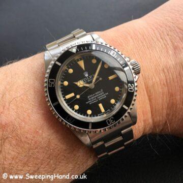 1967 Rolex 5512 Submariner Meters First