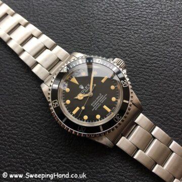 Rolex 5512 Submariner Meters First -1