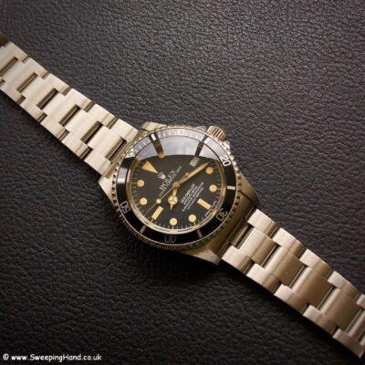 Rolex 1665 Seadweller Great White watch